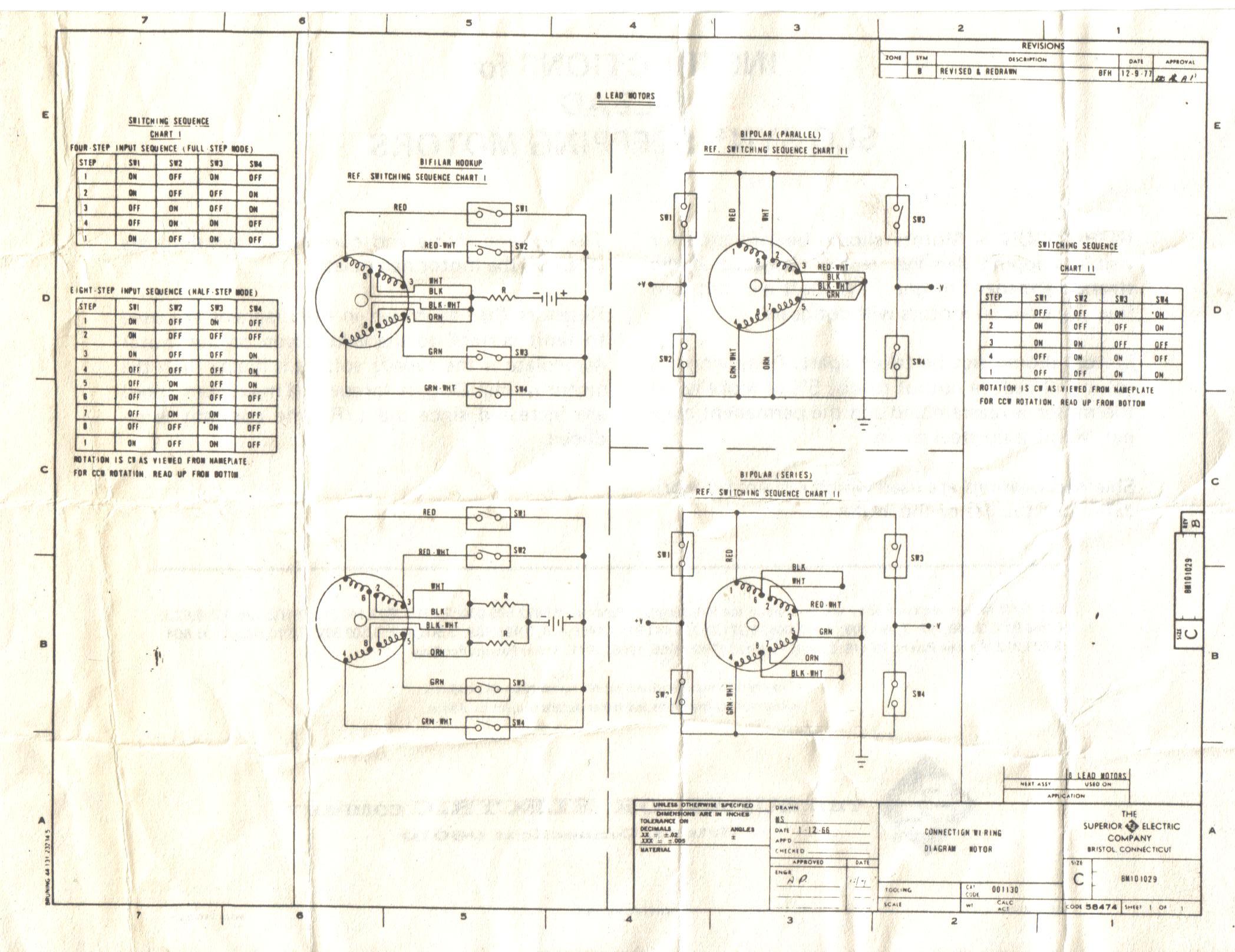 Slo Syn Stepper Motor Wiring Diagram Slo Syn Stepper Motor